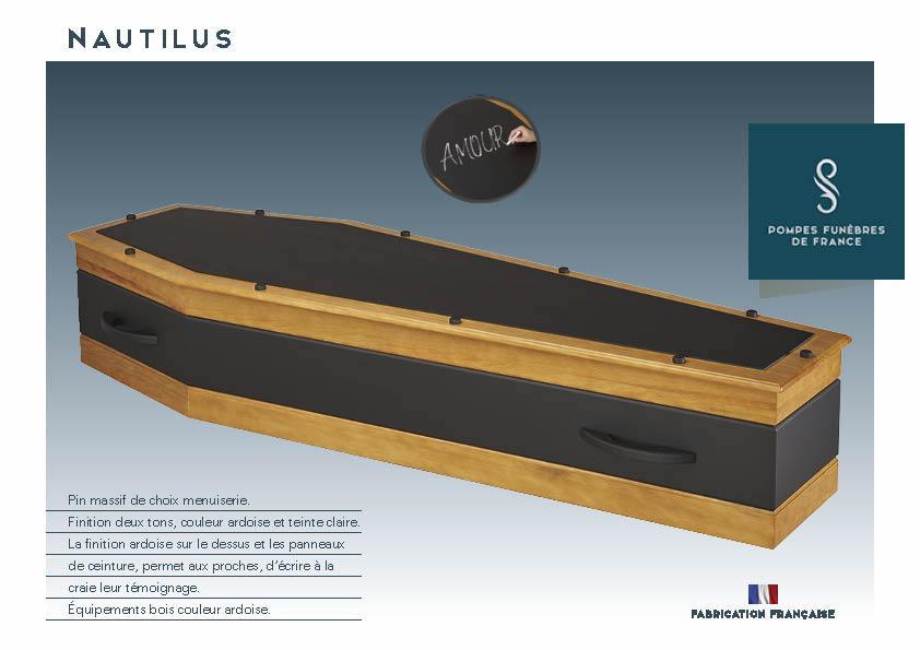 Cercueil Crémation NAUTILUS