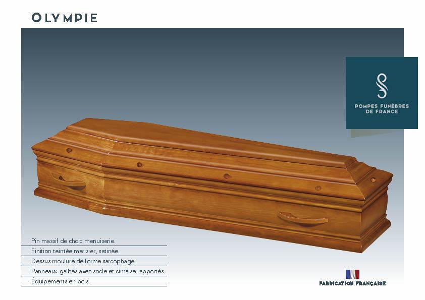 Cercueil Crémation OLYMPIE