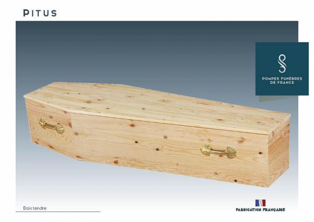 Cercueil Crémation PITUS