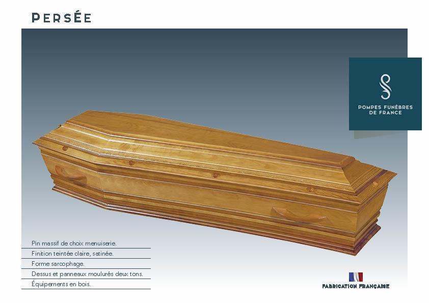 Cercueil Crémation Persée