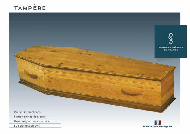 Cercueil Crémation TAMPÈRE