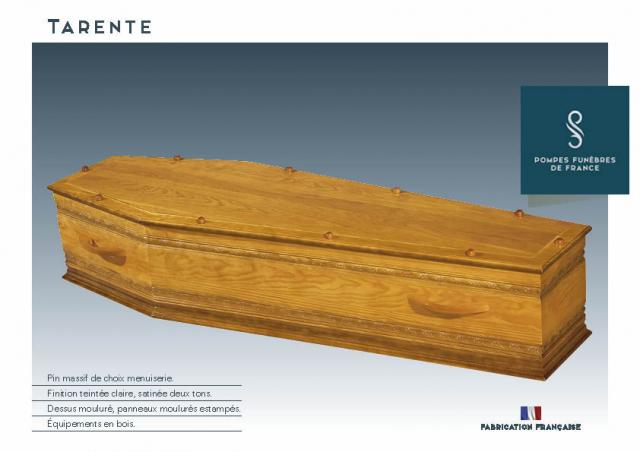 Cercueil Crémation TARENTE