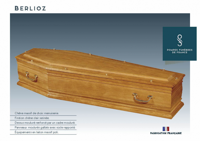 Cercueil Inhumation Berlioz