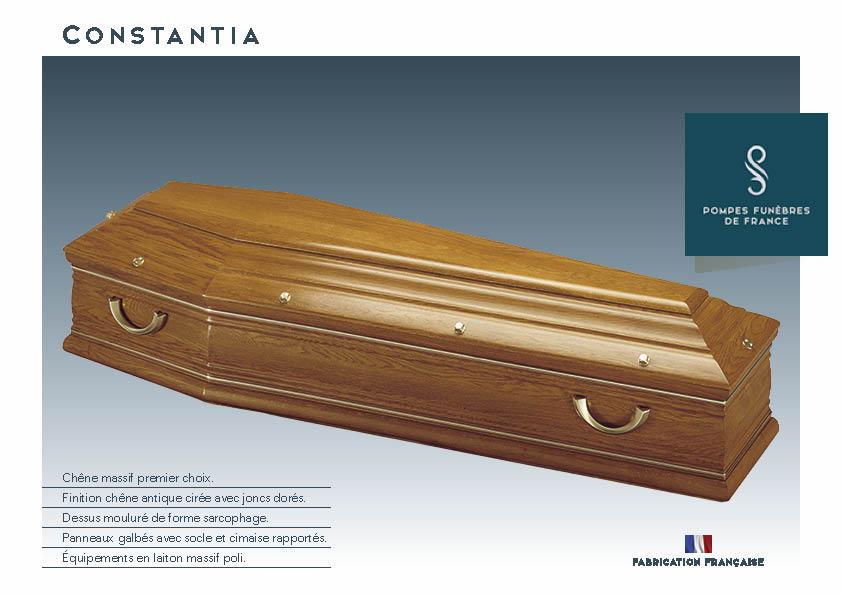Cercueil Inhumation Constantia