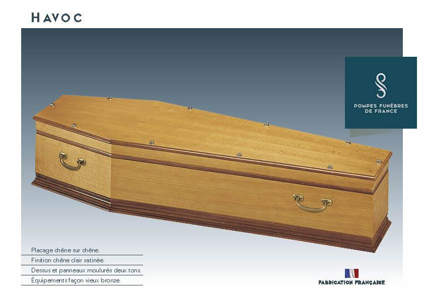 Cercueil Inhumation HAVOC