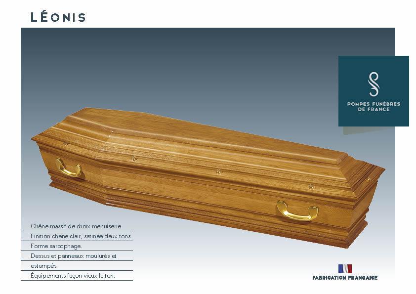 Cercueil Inhumation LÉONIS