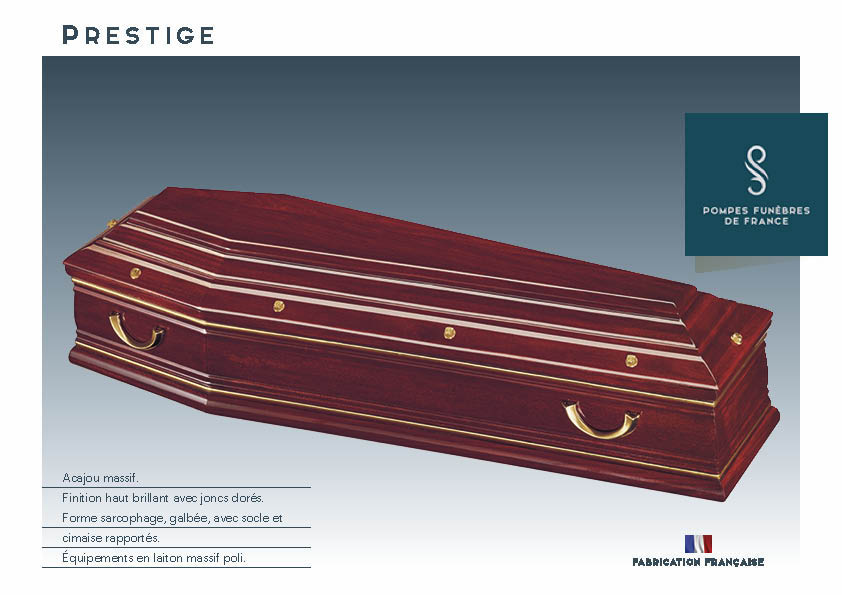 Cercueil Inhumation Prestige