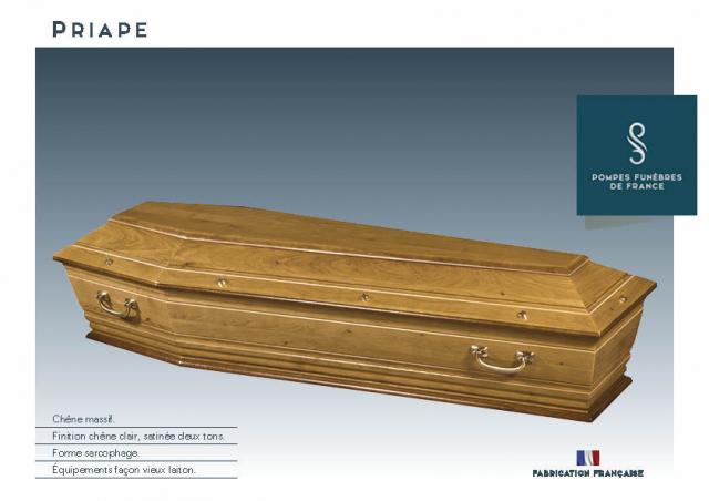 Cercueil Inhumation Priape