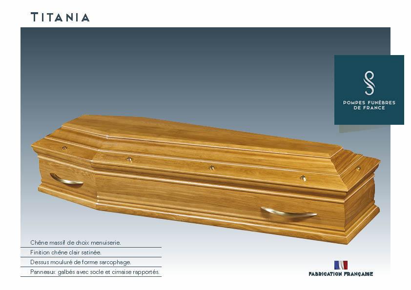 Cercueil Inhumation Titania